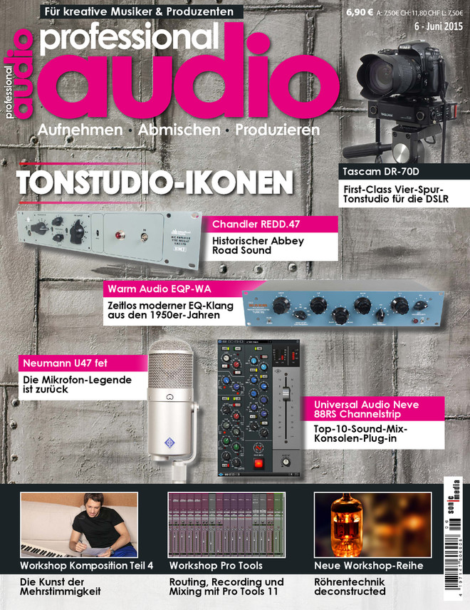 Professional audio 06/2015