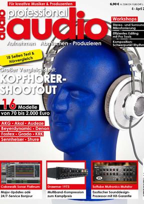 Professional audio 04/2015