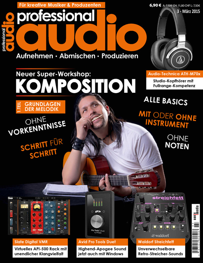 Professional audio 03/2015
