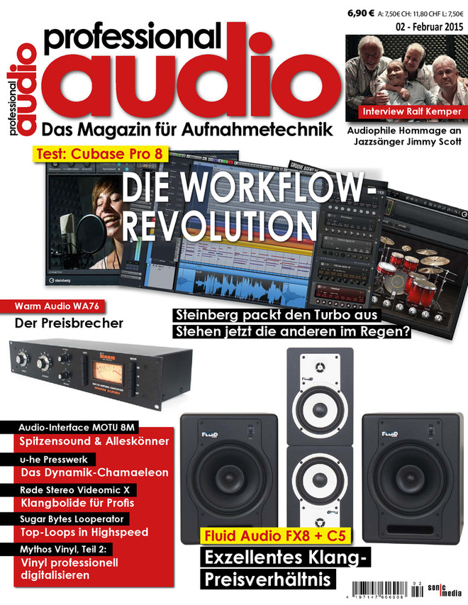 Professional audio 02/2015