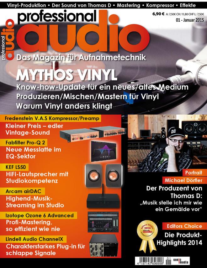 Professional audio 01/2015