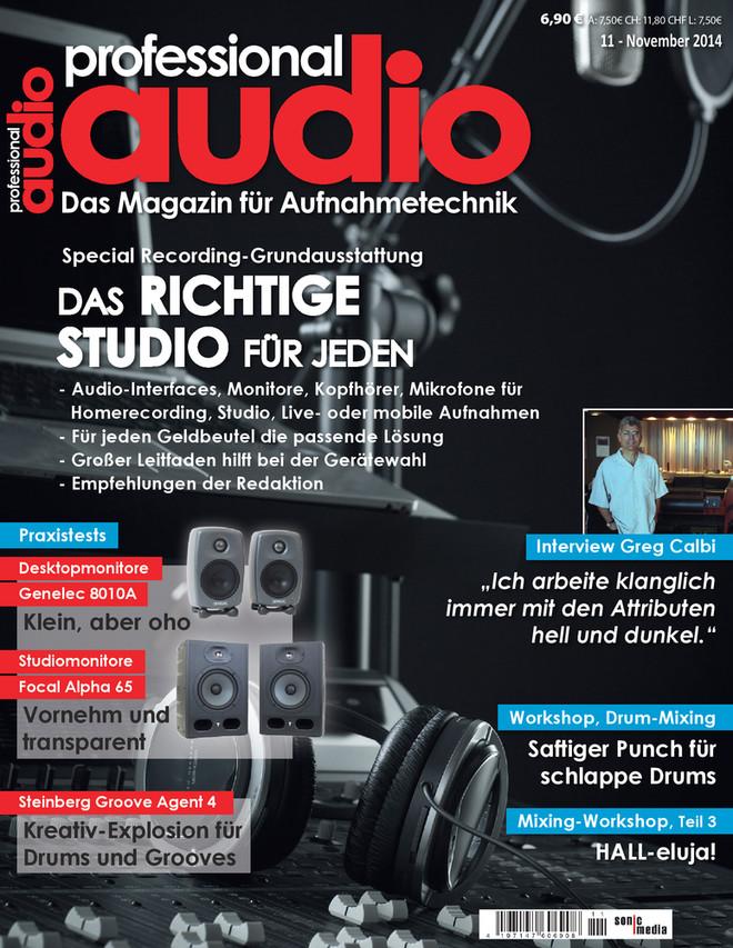 Professional audio 11/2014