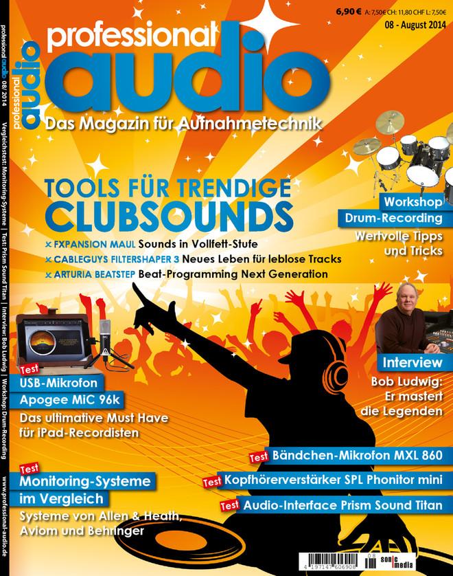 Professional audio 08/2014