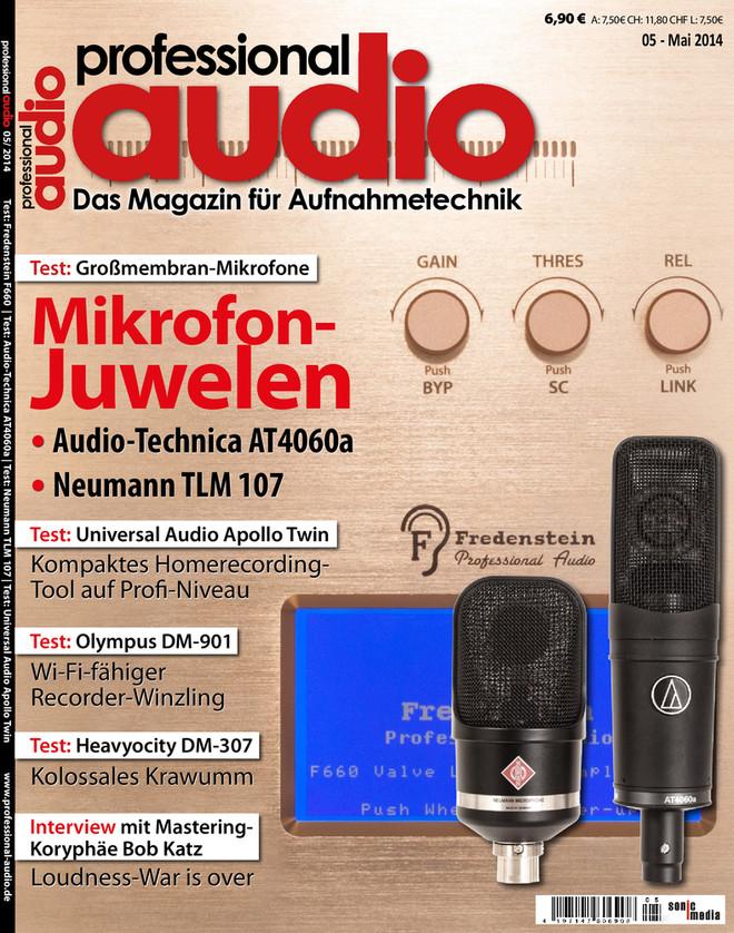 Professional audio 05/2014