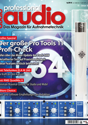 Professional audio 01/2014