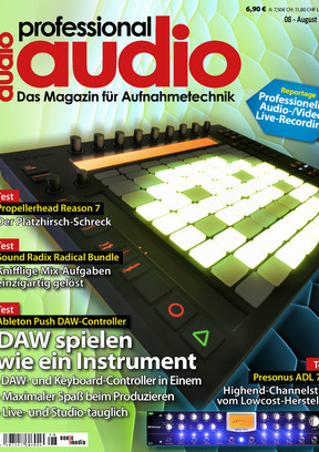 Professional audio 08/2013