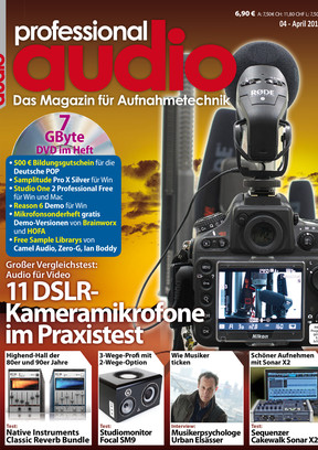Professional audio 04/2013