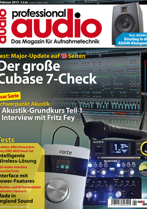 Professional audio 02/2013