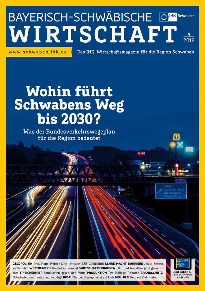 Bayerisch-Schwäbische Wirtschaft 4/2016