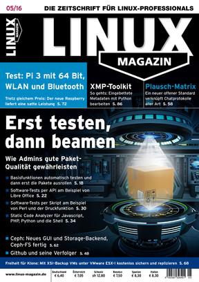 Linux Magazin 05/2016 Linux Magazin