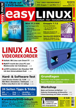 Easy Linux 02/2016