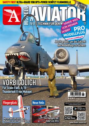 Modell AVIATOR Ausgabe 06/2016