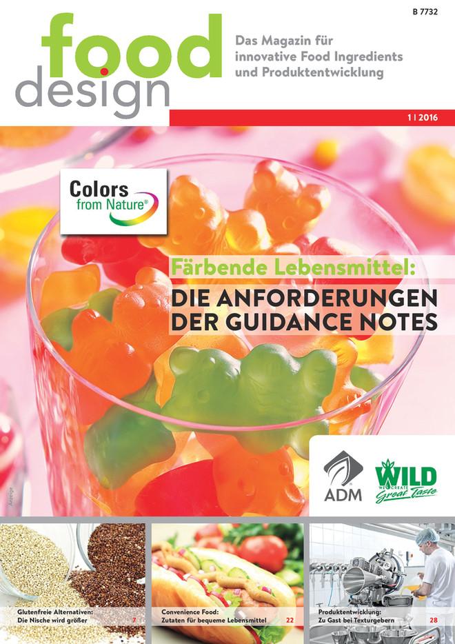 fooddesign Ausgabe 1/2016