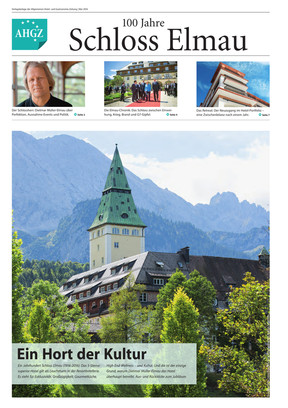 Verlagsbeilage 100 Jahre Schloss Elmau