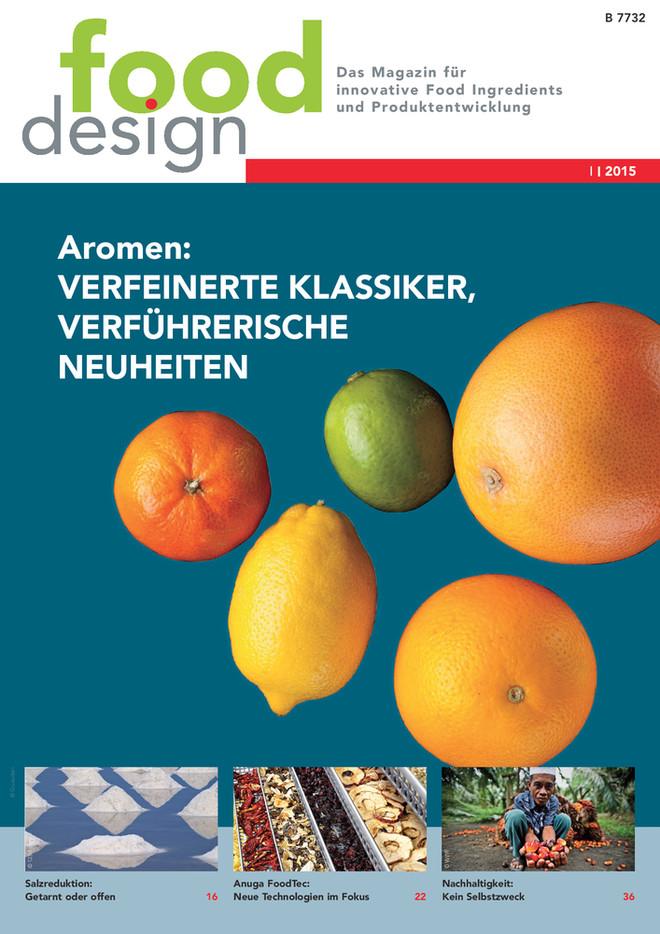 fooddesign Ausgabe 1/2015