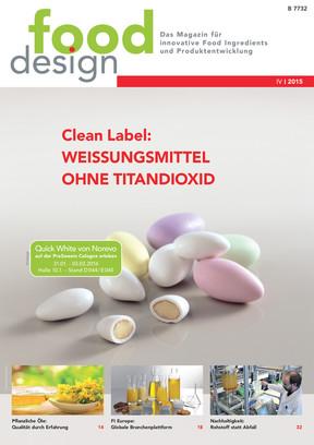 fooddesign Ausgabe 4/2015