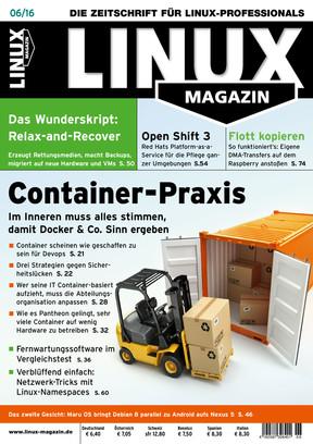 Linux Magazin 06/2015