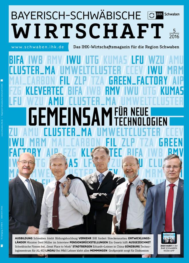 Bayerisch-Schwäbische Wirtschaft 5/2016