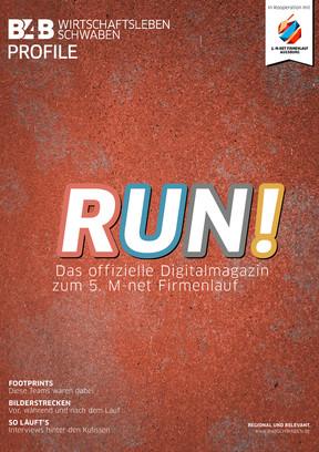 RUN! Das Digitalmagazin zum 5. M-net Firmenlauf