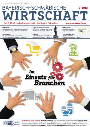 Bayerisch-Schwäbische Wirtschaft 4 | 2013