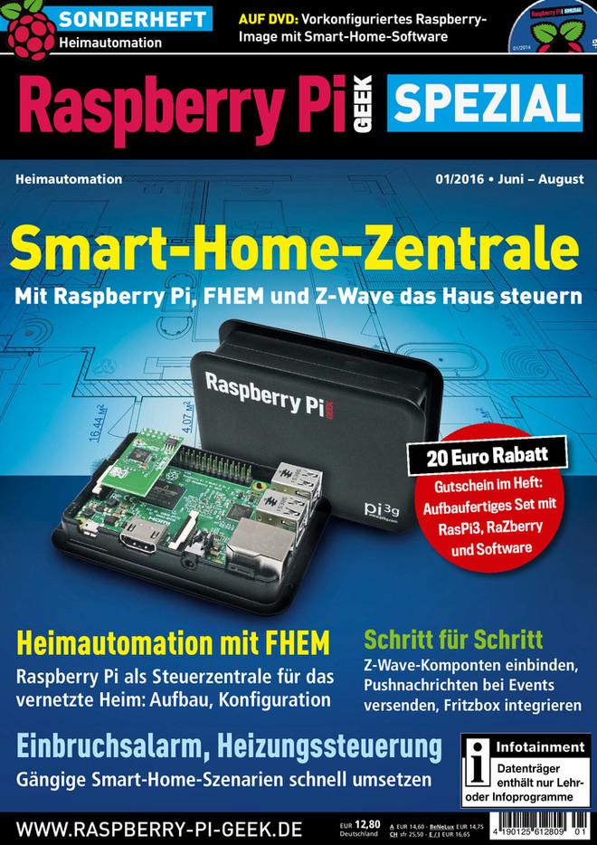 Raspberry Pi Geek Spezial 01/2016