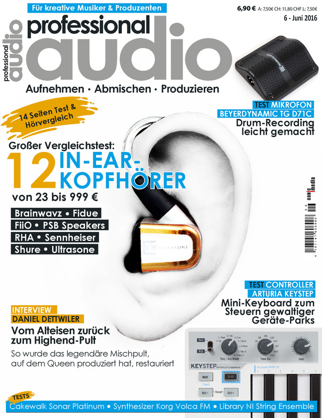 Professional audio 06/2016
