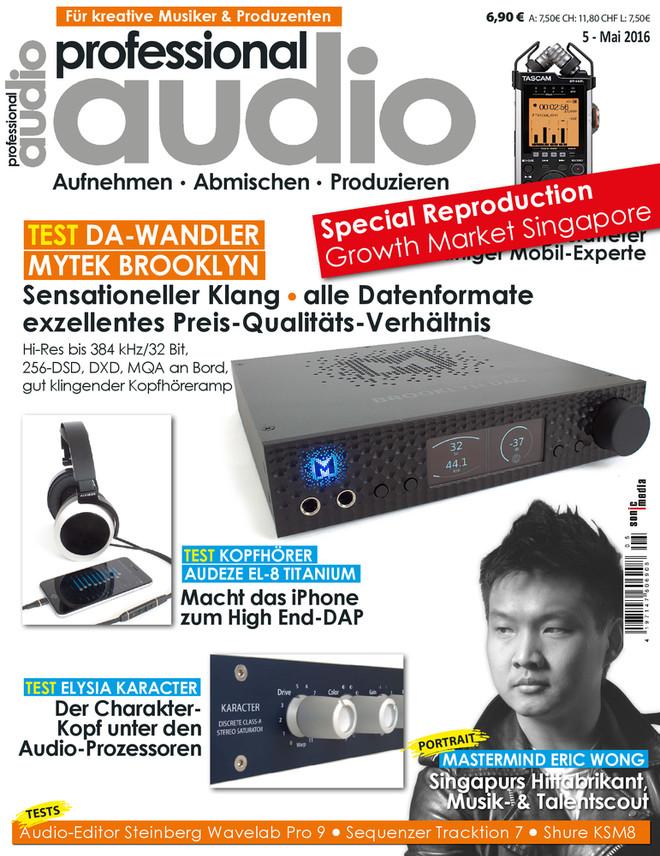 Professional audio - Sonderdruck Musikmarkt Singapur