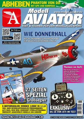 Modell AVIATOR Ausgabe 06/2013