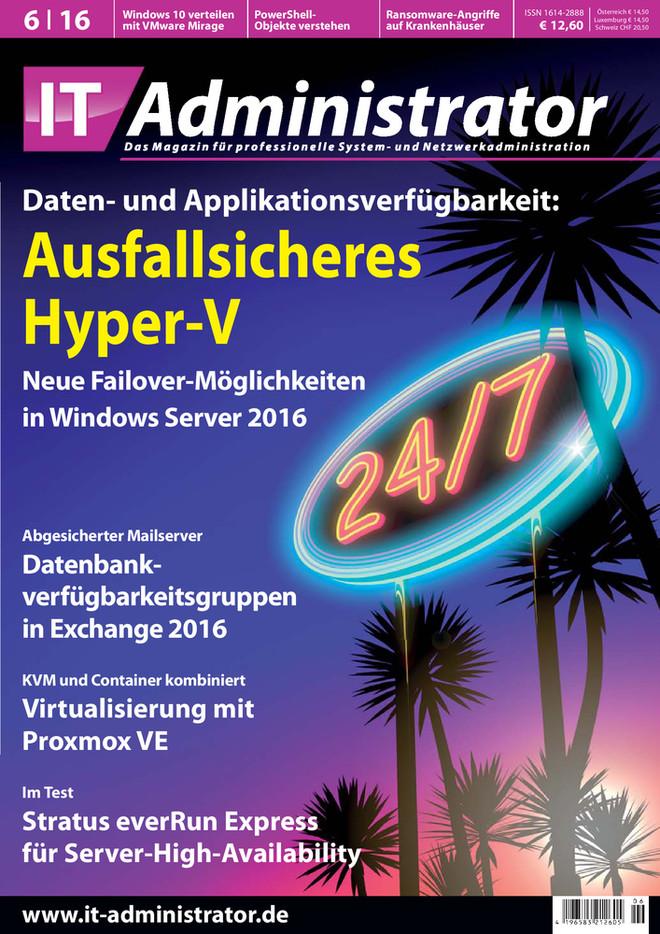 Ausgabe 06/2016