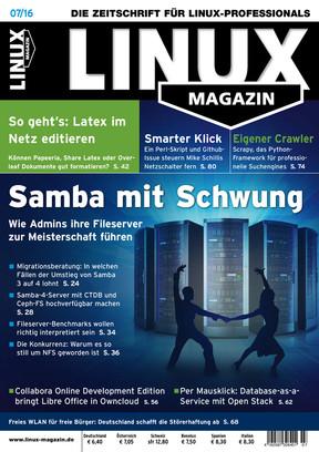 Linux Magazin 07/2016