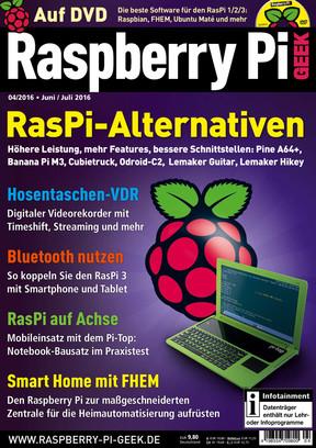 Raspberry Pi Geek 04/2016