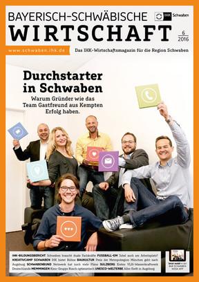 Bayerisch-Schwäbische Wirtschaft 06/2016