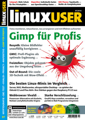 Linux User 07/2016