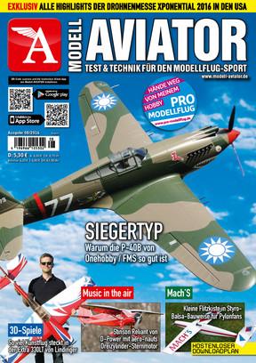 Modell AVIATOR Ausgabe 08/2016