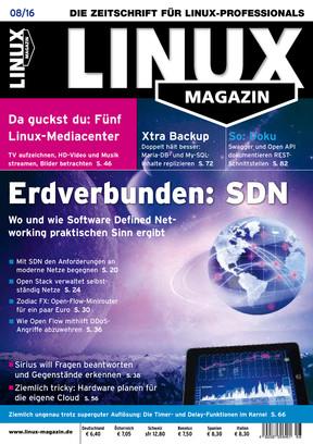 08/2016 Linux Magazin