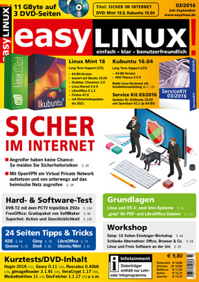 Easy Linux 03/2016