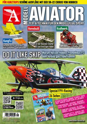 Modell AVIATOR Ausgabe 09/2016