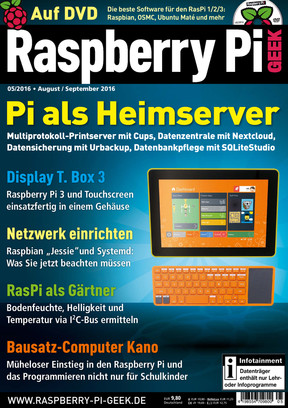 Raspberry Pi Geek  05/2016