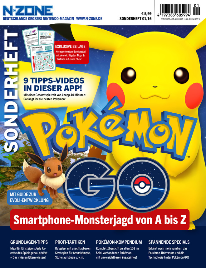 N-ZONE Sonderheft 01/2016 - Pokémon GO