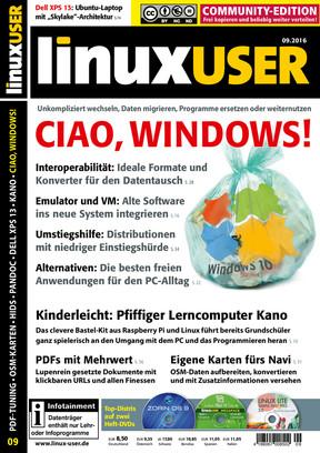 Linux User 09/2016