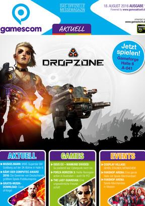 gamescom AKTUELL Ausgabe 1, 18.08.2016 GA
