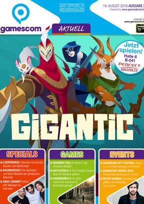 gamescom AKTUELL 2/2016 GA