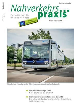 Nahverkehrs-praxis IAA-Supplement 09/2016