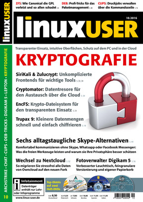 Linux User 10/2016