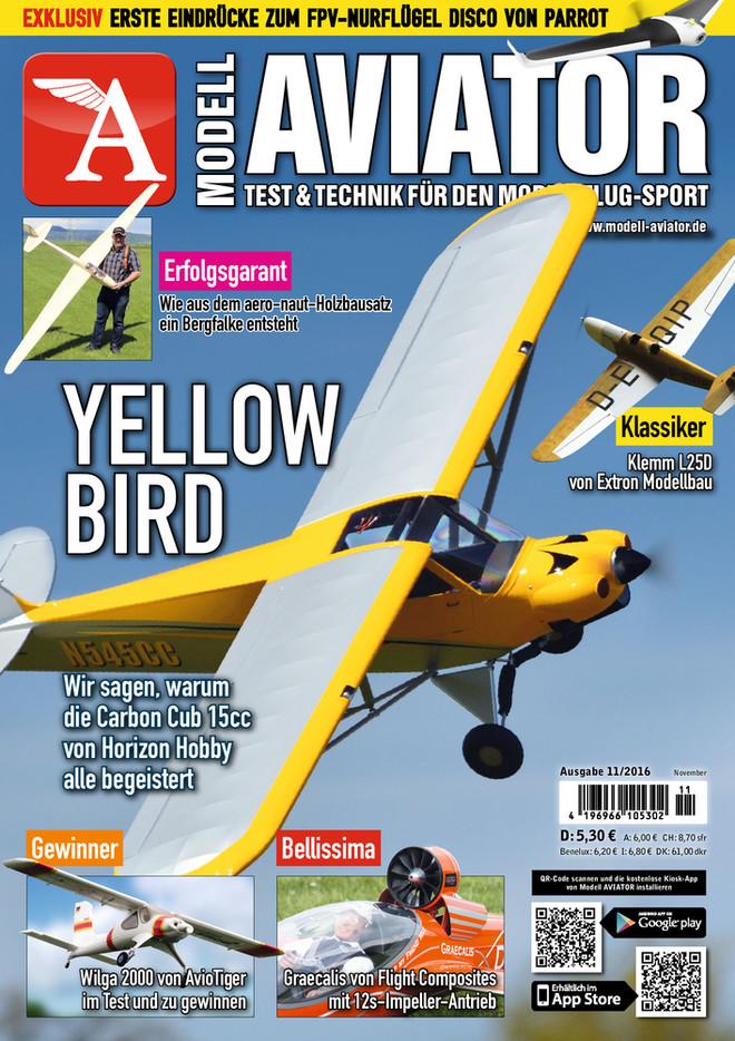 Modell AVIATOR Ausgabe 11/2016