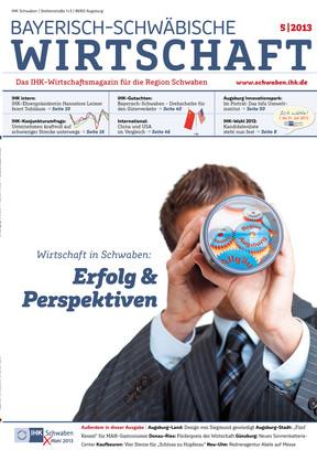 Bayerisch-Schwäbische Wirtschaft 5 | 2013