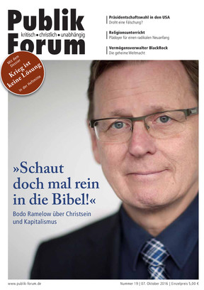 Publik-Forum, 19/2016