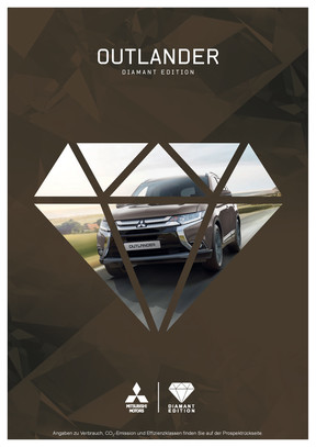 Outlander Diamant Edition Sondermodellprospekt 10/2016