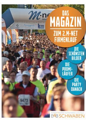 Das Magazin zum 2. M-net Firmenlauf