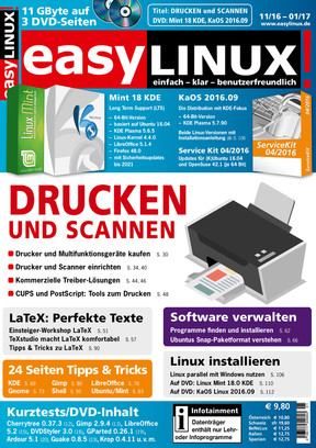 Easy Linux 04/2016